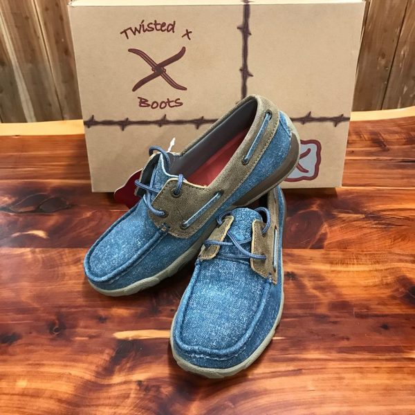 Women's Driving Moccasins – Jeans/Bomber